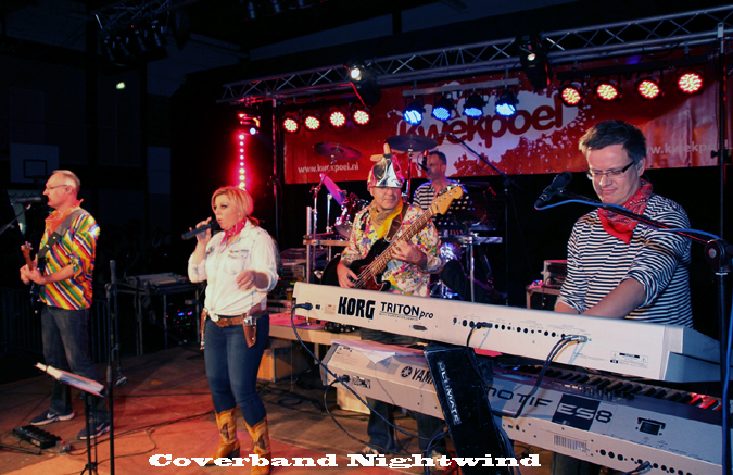 carnavalsband Coverband Nightwind de partyband en feestband uit Brabant